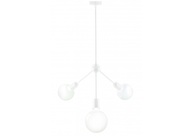 Lampa Bylight Trio Stick  Biała