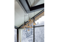 Bylight Solar Lamp Brushed Brass