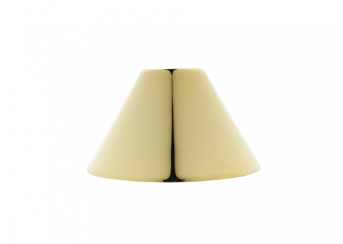Cone Ceiling Canopy - Gold