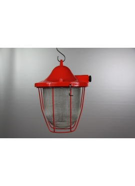 Renovated lamp C-100 Red