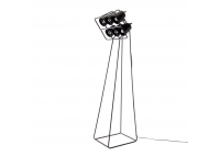 Lampa stojąca Multilamp Black