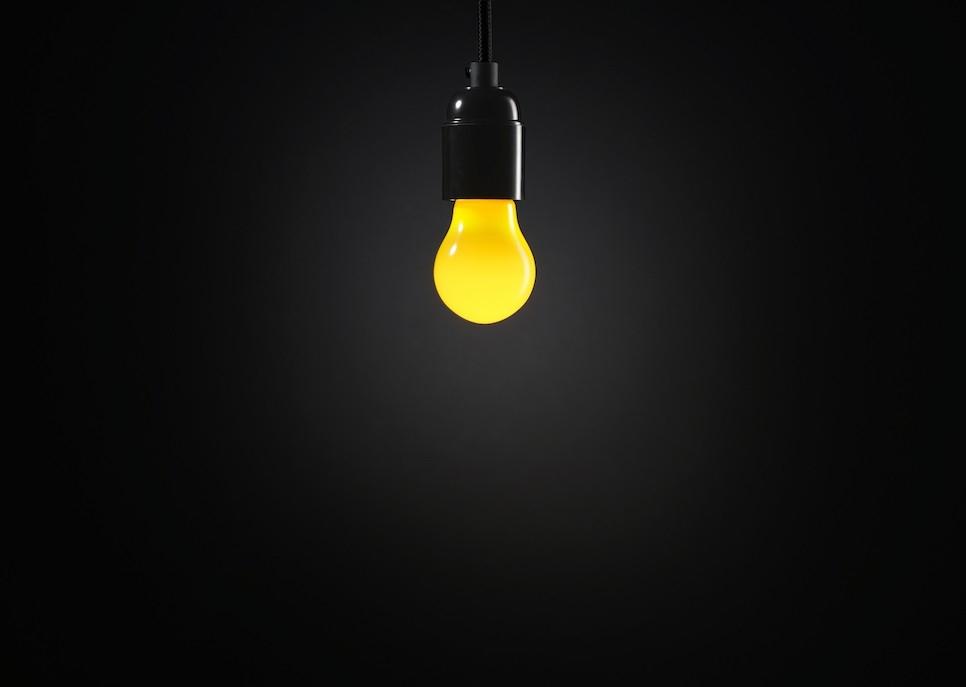 Festoon Lightbulb Yellow Lamp Shop