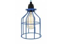 Lampa z klatką niebieską B