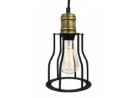 Lampa z klatką Rustic