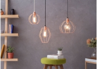 Lampa z klatką W3 -