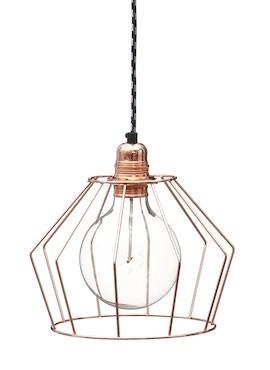 Cage Lamp W1 - Copper