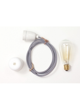 Lampa ByLight kabel zebra