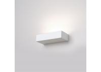 Kinkiet Prostokątny Ceramiczny Biały - mały