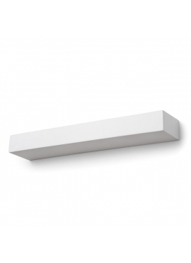 Rectangular Ceramic White Wall Lamp - big