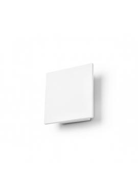 Kinkiet Kwadratowy Ceramiczny Biały