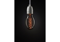 Oval Spiral Decorative Light Bulb