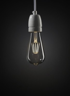 Edison LED 7W decorative light bulb