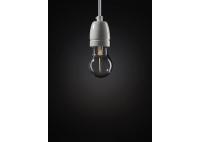 Crystaled Square Lightbulb - Transparent