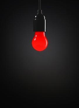 Żarówka Circus - czerwona