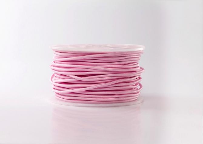 Kabel różowy jasny