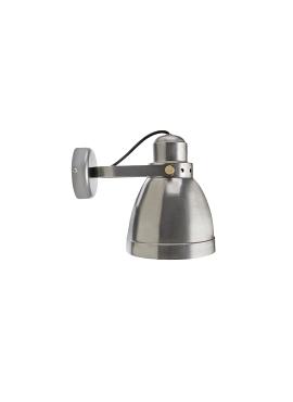 Wall Loft Lamp T14 Raw Steel