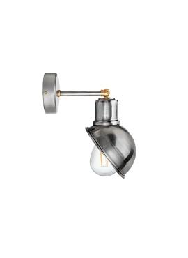 Wall Loft Lamp T55 Raw Steel