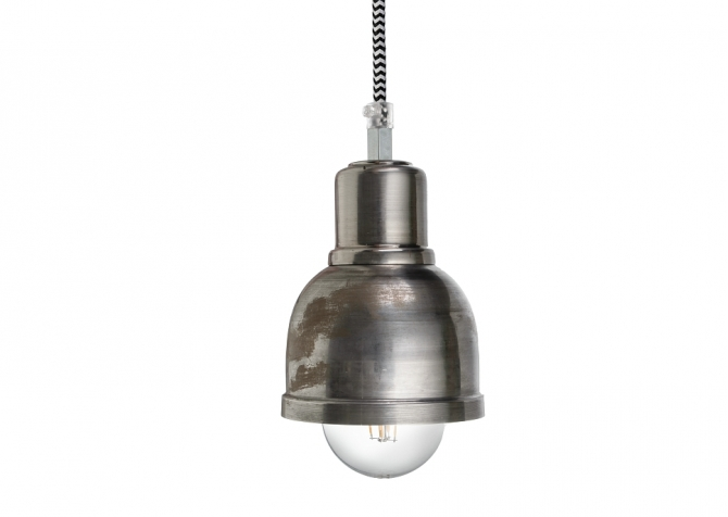 ByLight Punk Lamp Raw Steel