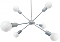 Rhythm Lamp grey
