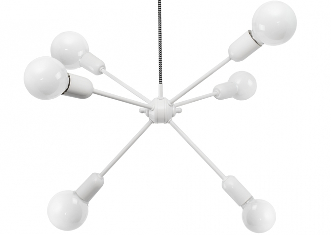 Lampa Rhythm Biała