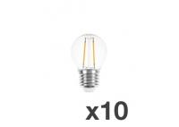 Set of 10 lightbulbs for festoon lights