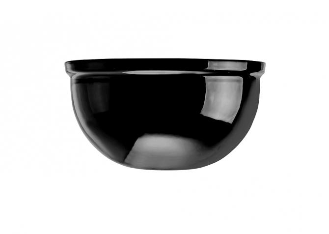 Podsufitka kopułka czarny połysk