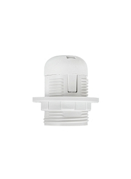 White Lamp Holder K