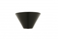 Cone Ceiling Canopy - Black