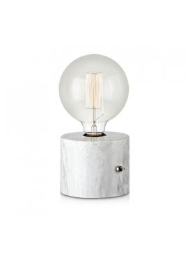 Lampa Biurkowa Round White