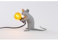 Sitting Mouse Grey - Table Lamp