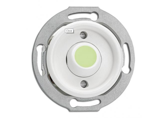 przycisk dzwonkowy Lumi THPG PT biały