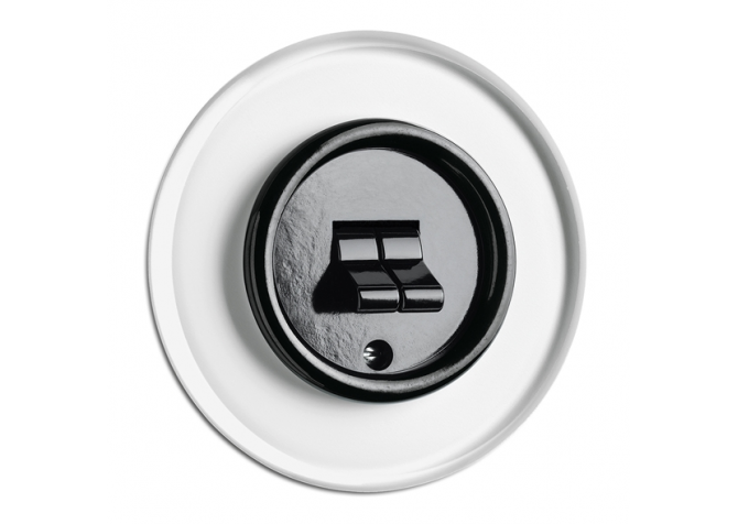 THPG White toggle switch PT