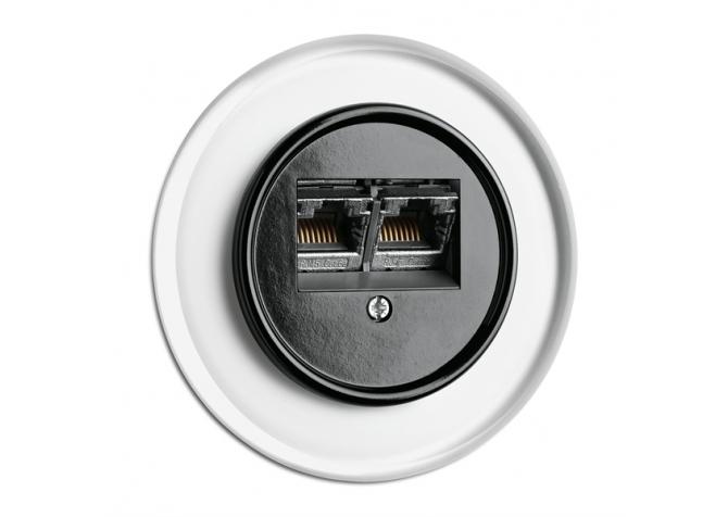 Internet socket THPG Bakelite for glass covering