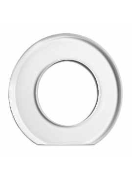 Glass round frame external for dimmer THPG