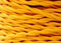 Kabel Twist Żółty