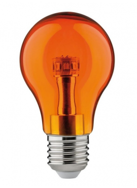 Żarówka kolorowa LED 1W Pomarańczowa