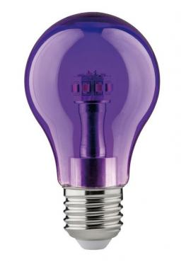Żarówka kolorowa LED 1W Fiolet