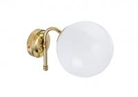 Wall Loft Lamp Big Milk Brass