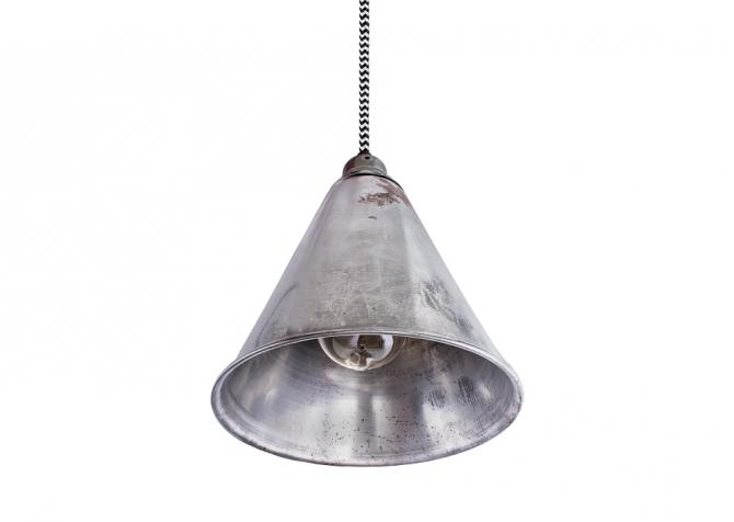 Lampa ByLight Trumpet Stal surowa