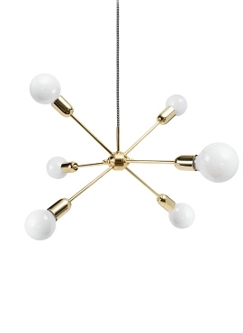 Rhythm Lamp Brass