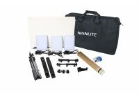 Nanlite Compac 20 Daylight LED 3 Panel Kit