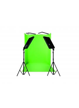 NANLITE COMPAC Zestaw 1822 zielonego ekranu 4 x 100
